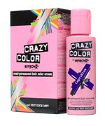 Crazy Colour Semi Permanent Hair Dye 100ml CAPRI BLUE - Shopdance.co.uk