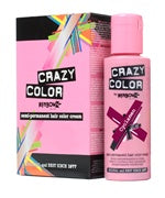 Crazy Colour Semi Permanent Hair Dye 100ml CYCLAMEN - Shopdance.co.uk
