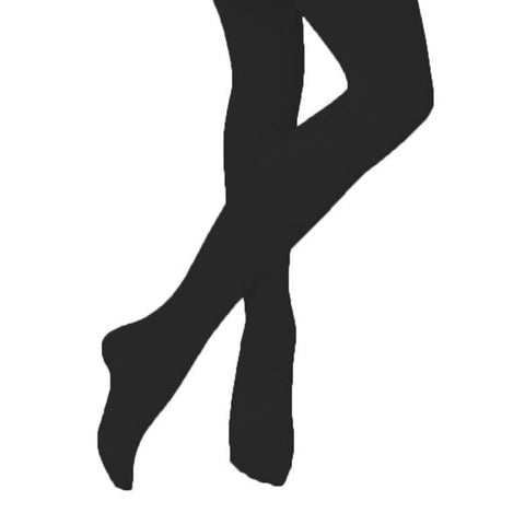 Full Footed Black Dance Tights - Childrens and Adults - Silky Dance - Shopdance.co.uk