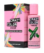 Crazy Colour Semi Permanent Hair Dye 100ml EMERALD GREEN - Shopdance.co.uk