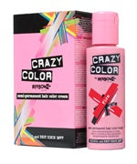 Crazy Colour Semi Permanent Hair Dye 100ml FIRE - Shopdance.co.uk