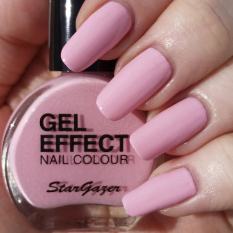Stargazer Gel Effect Nail Polish Baby Pink - Shopdance.co.uk