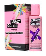 Crazy Colour Semi Permanent Hair Dye 100ml HOT PURPLE - Shopdance.co.uk