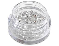 Nail Rhinestones Clear - Mad Beauty - 144 in a pack. - Shopdance.co.uk