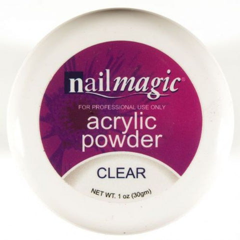 Nail Magic Acrylic Powder Clear 30gm - Shopdance.co.uk