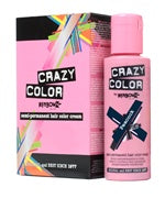 Crazy Colour Semi Permanent Hair Dye 100ml PEACOCK BLUE - Shopdance.co.uk