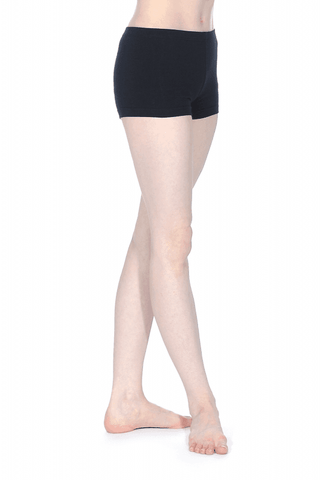 Roch Valley Girls - Dance Shorts BLACK (New Microfibre) RV Tempo - Shopdance.co.uk