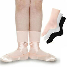 Roch Valley Girls-Ladies Ballet Socks Pink White or Black - Shopdance.co.uk