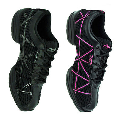Girls Split Sole Dance Web Sneaker Black Patent or Pink by Capezio Code: DS19 - Shopdance.co.uk