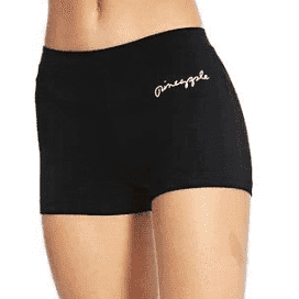PINEAPPLE DANCEWEAR Womens-Girls Classic Hot Pants Shorts Dance Gym Workout Black - Shopdance.co.uk