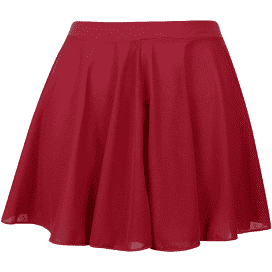 Girls Dance ISTD Regulation Circular Skirt PLUM/CHERRY by Freeds of London Code:LILLY - Shopdance.co.uk