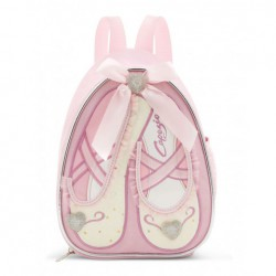 Girls Capezio Dance Slipper Backpack Dance Bag. Code: B122C - Shopdance.co.uk