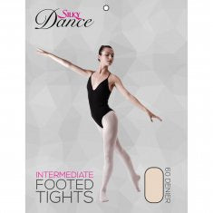 Footed Ballet Tights Pink - Childrens - Adults - Girls - Silky Dance - Shopdance.co.uk