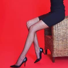 Silky Scarlet Fishnet Tights, Ladies Women Fishnet Tight Pantyhose Fancy Tights - Shopdance.co.uk