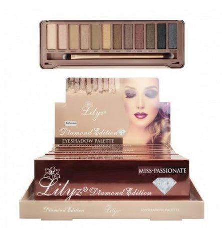 Lilyz Diamond Edition Eyeshadow Palette (Miss-Passionate)
