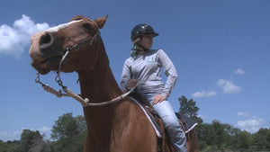 Student with ADHD says horseback riding helps control the disorder
