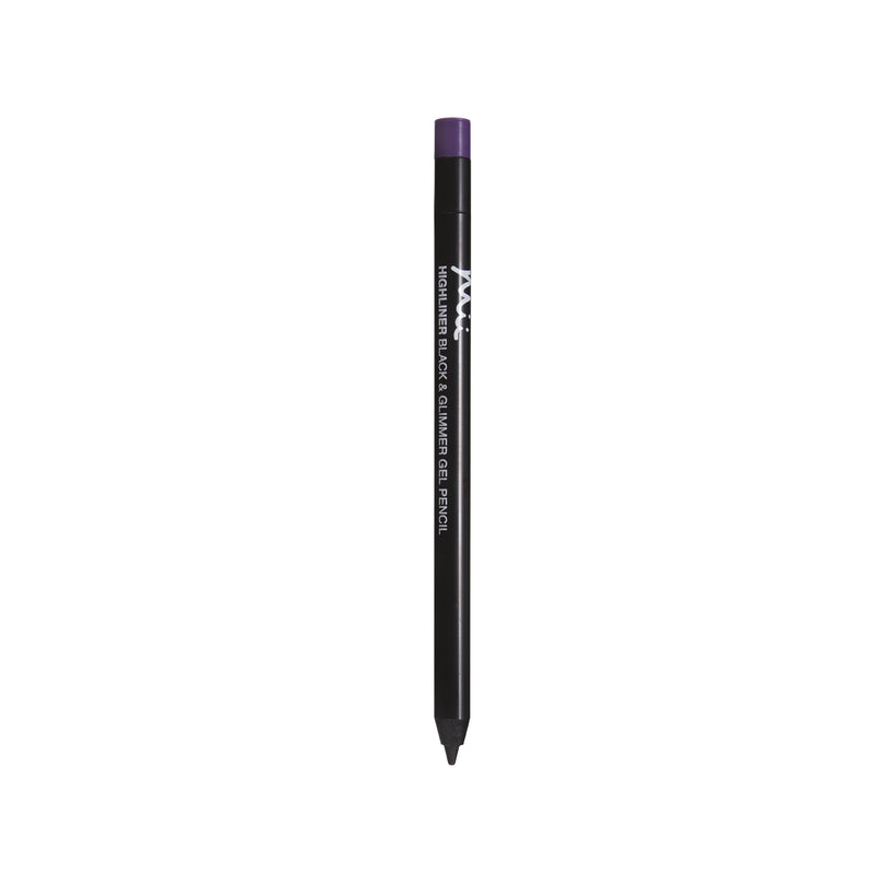 Mii Cosmetics Highliner Gel Pencil Black & Purple 03