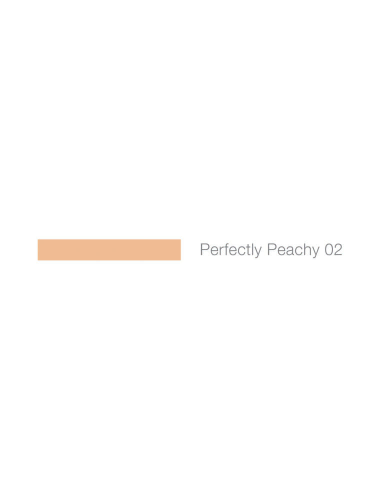 Mii Cosmetics Flawless Face Base Perfectly Peach 02