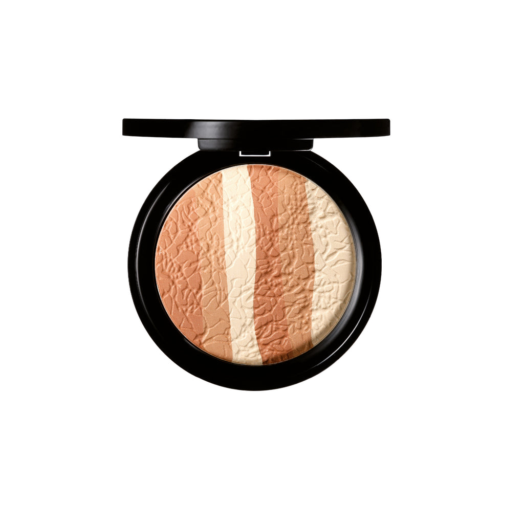 Mii Cosmetics Glamorous Trio Bronzing Face Finish Treasure 01