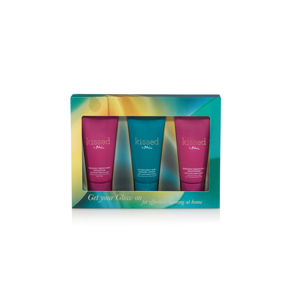 Kissed by Mii Get Your Glow On Homecare Kit