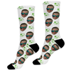 Leprechaun Hat Photo Face Socks