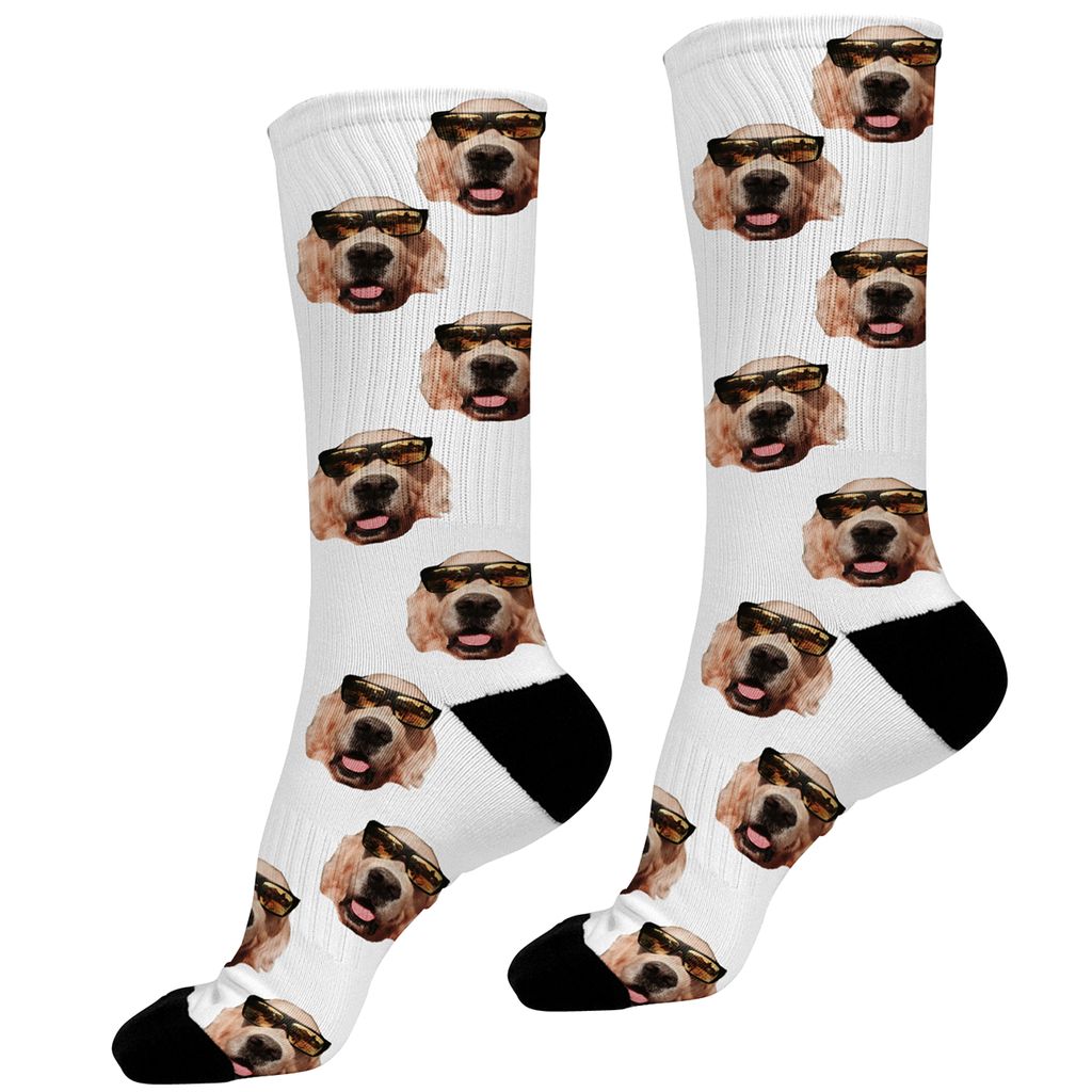 How To Put A Dogs Face On Socks