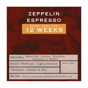 Zeppellin Espresso Gift Subscription - 3 Months