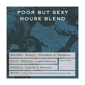 Poor But Sexy House Blend