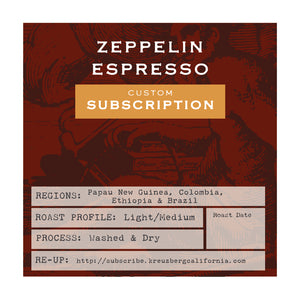 Zeppellin Espresso Subscription