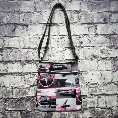 Crossbody - Pink Caddy