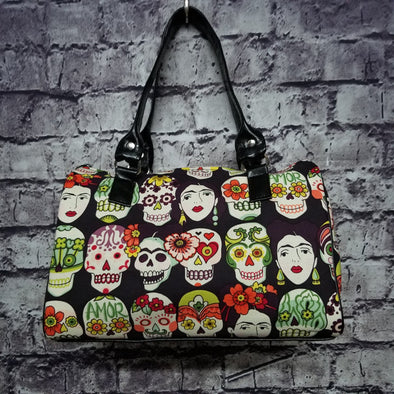 Dipity Bag - Frida Skulls
