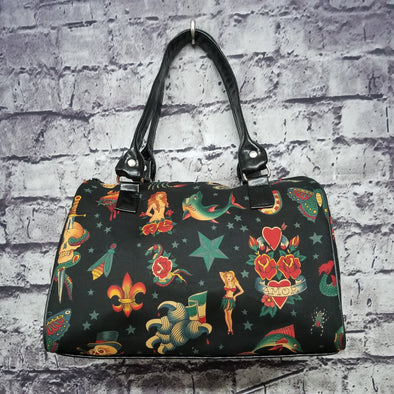 Dipity Bag - Black Vintage Tattoo