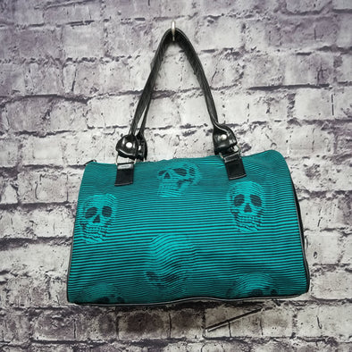 Dipity Bag - Teal Interlaced Skulls