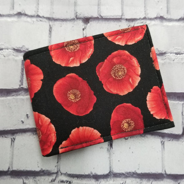 Not Just For Men (NJFM) Wallet - Poppies
