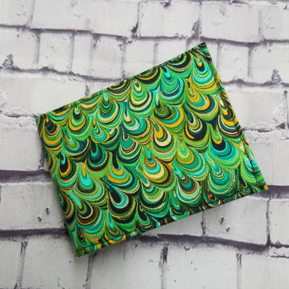 Not Just For Men (NJFM) Wallet - Green Swirls