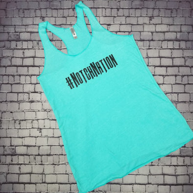 Aqua #NotchNation Tank