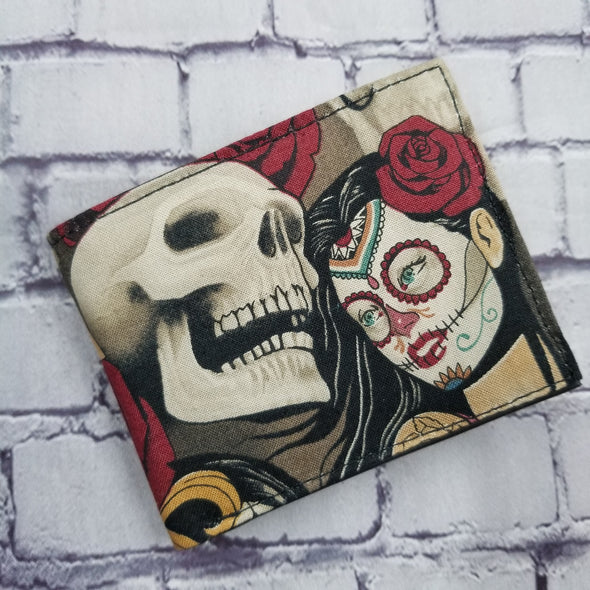 Not Just For Men (NJFM) Wallet - Day of Dead Pinup (vintage)