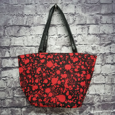 Top Notch Tote - Blood Splatter