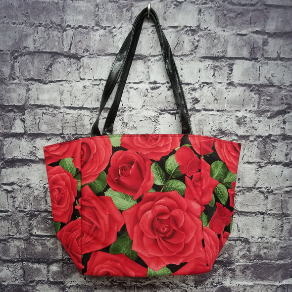 Top Notch Tote- Roses