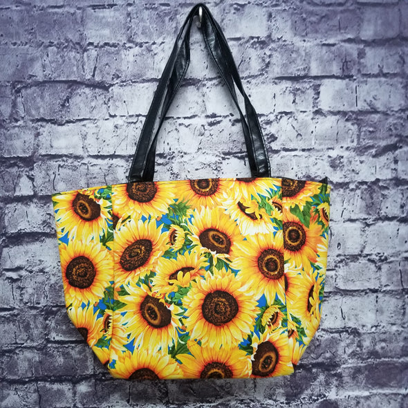 Top Notch Tote- Sunflowers