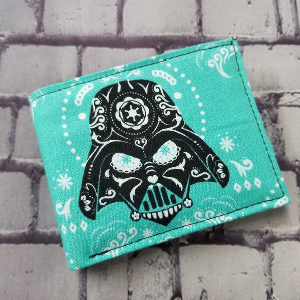 Not Just For Men (NJFM) Wallet - Teal Darth Vader