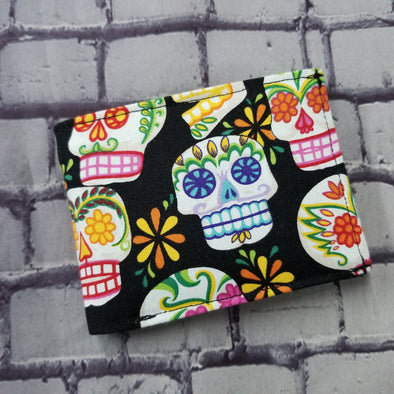 Not Just For Men (NJFM) Wallet - Color sugar skulls
