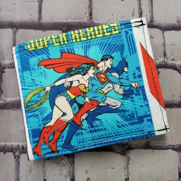 Not Just For Men (NJFM) Wallet - DC Heroes