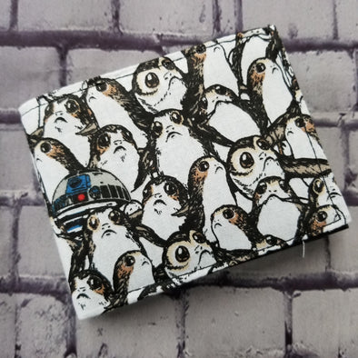 Not Just For Men (NJFM) Wallet - Porgs & R2