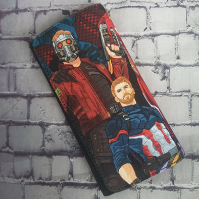 Wallet - Infinity War ( Star Lord & Cap)