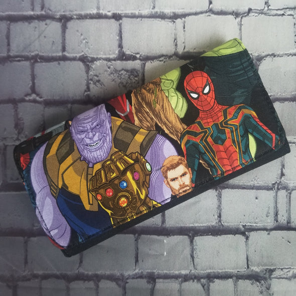 Wallet - Infinity War (Thanos & Spidey)
