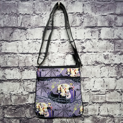 Crossbody - Evil Queens (purple web)