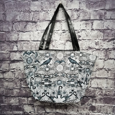 Top Notch Tote - Dark Lace