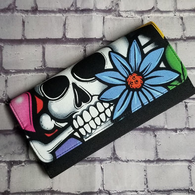 Wallet - Grafitti Skull