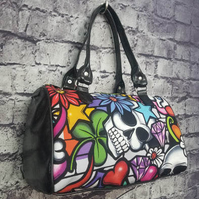 Dipity Bag - Graffiti Skull